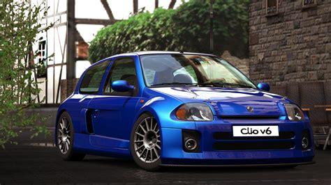 renault clio v6 modified 2000 renault clio sport v6 gran turismo 5 by