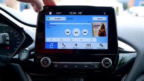 ford sync android ausprobiert der ford 2017 mit sync 3 und android auto