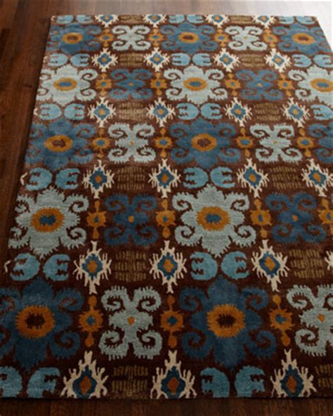 Ikat Runner Rug Safavieh Blue Ikat Runner 2 6 X 8 Traditional Rugs By Horchow