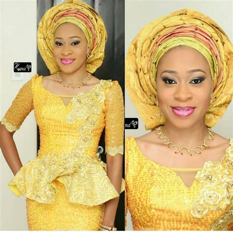 styles 4 asoebi blouse creative lace skirt and blouse styles for weekend parties