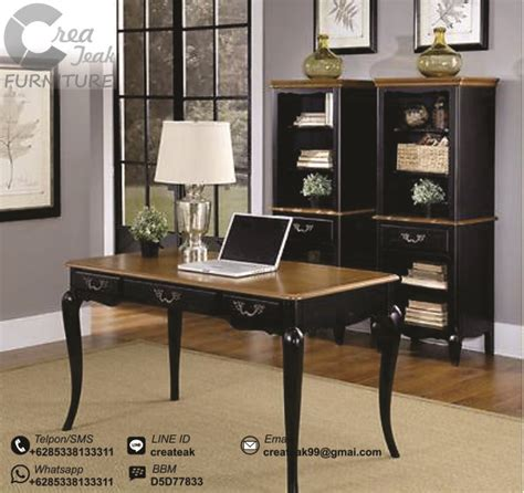 Jual Meja Kantor Informa meja kerja vintage ventura createak furniture createak