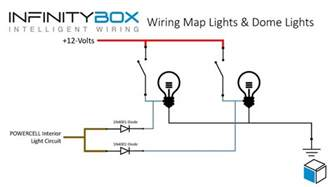 Car Dome Light Wiring Diagram Map Lights And Interior Lights Infinitybox