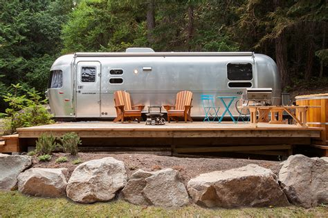 Oven And Cooktop Airstreams Woods On Pender