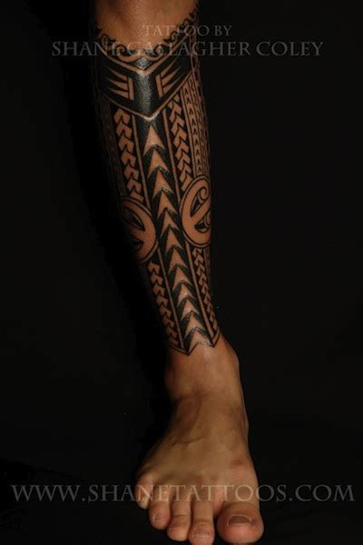 tribal shin tattoos polynesian quotes quotesgram