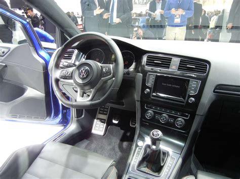 golf 7 gtd interni volkswagen golf 7 gti concept al salone di parigi 2012