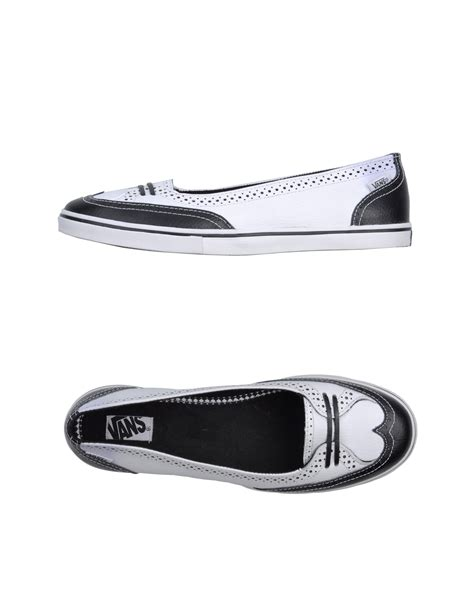 vans flat shoes vans ballet flats in white