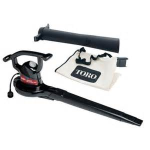 toro 230 mph 390 cfm electric leaf blower vacuum