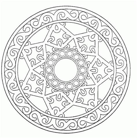 mandalas to color free mandala coloring pages coloringpagesabc