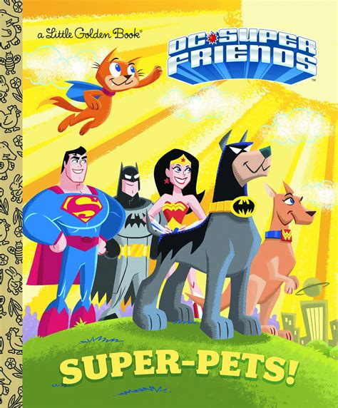 previewsworld dc friends pets golden