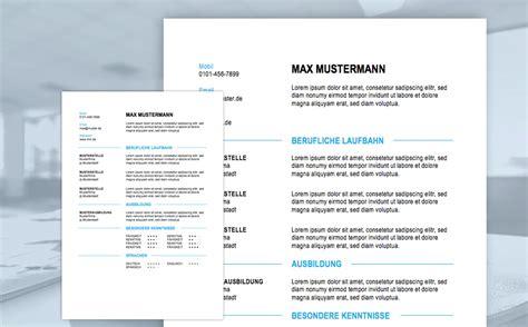 Microsoft Word Lebenslauf Vorlagen Lebenslauf Muster Meinebewerbung Net