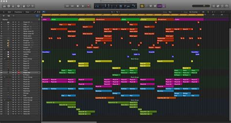 Caramel Logic X Pro Template Logic Pro X Templates