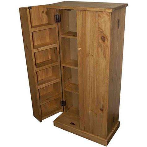 Kitchen Utility Pantry Solid Wood Organize Utility Kitchen Pantry Storage Cabi