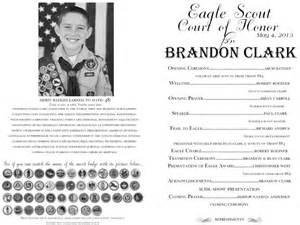 of honor template eagle court of honor program template eagle court of