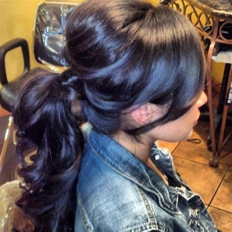 sewing hair updo ponytail by misty maneygarrison hairstyles pinterest