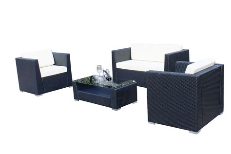wicker sectional sofa indoor 4 pcs luxury wicker patio sectional indoor outdoor sofa