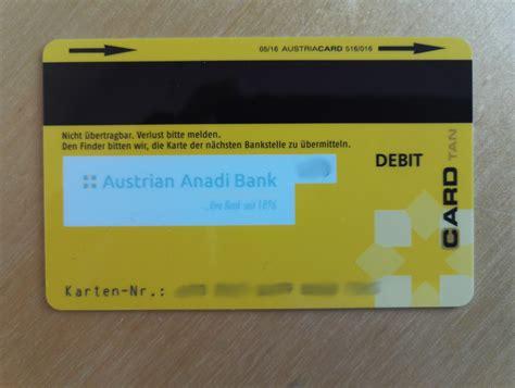 kreditkarte bank austria kosten anadi bank girokonto gratis konto inklusive bankomat
