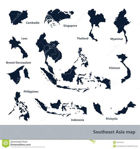 Free Asia Outline Map Vector by Southwest Clip To Clipart Panda Free Clipart Images