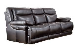 Leather Reclining Sofa Jasper Leather Power Reclining Sofa
