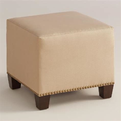 cost plus ottoman micro suede mckenzie upholstered ottoman world market