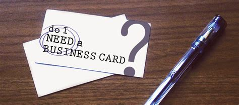 Do I Need Business Cards As An Mba by Do I Need A Business Card Divvy