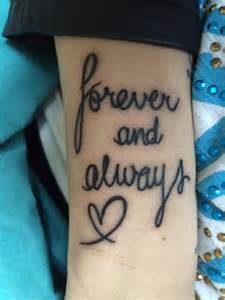 forever tattoo forever and always tattoos piercings
