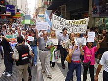 crisis de diciembre de 2001 en argentina wikipedia, la