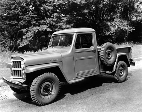 willys jeep pickup a history of the 1947 1964 willys overland pickup the