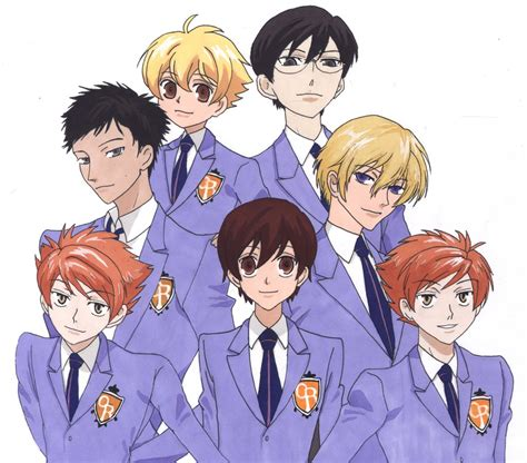 ouran highschool host club here ouran high school host club favourites by xxknockoutxx on