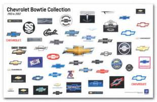 chevrolet bowtie collection poster chevymall