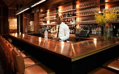 Top Bars by Rooftop Bars Above 6 Bar At 6 Columbus Hotel New York 187 Retail Design