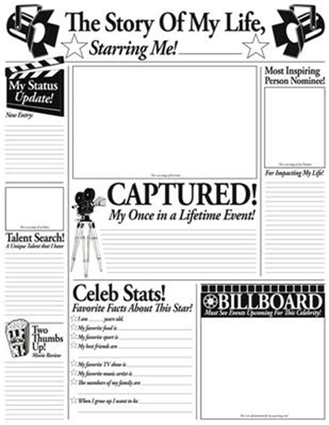 themes of story of my life story of my life fill in poster set hollywood theme