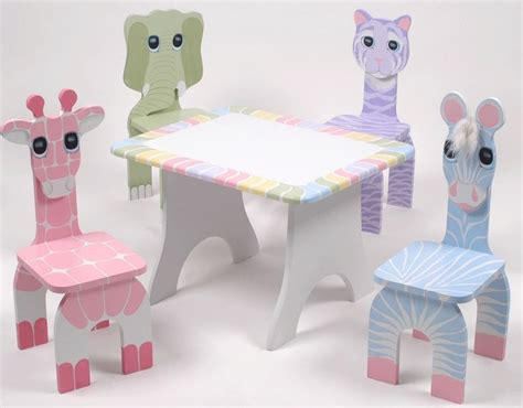 childrens cing chair and table table and chairs nursery