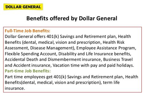 Benefits Of Mba For Dentists by Dollar General Distribution Center