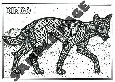 Aboriginal Coloring Pages Amazing