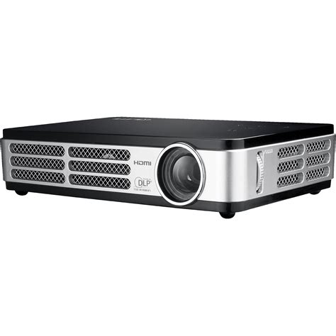 Projector Qumi Vivitek Qumi Led Pocket Projector Black 814964335692 B H