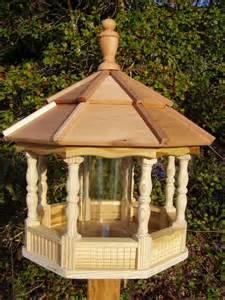 Galerry wood gazebo bird feeder