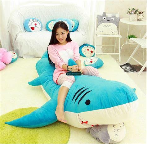 giant stuffed shark sleeping bag 2017 dorimytrader 79 200cm shark sleeping bag giant