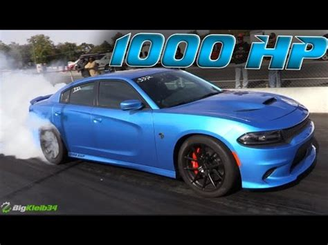 Dodge Charger 1000 Hp by 1 000 Hp Dodge Charger Hellcat Kills It In The Quarter