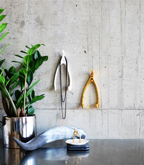Wishbone Home Decor Lucky Wishbone Wall Hook Design By Imm Living Burke Decor