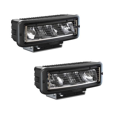 led lights headlights snow plow headlights model 9800 led heated headlights