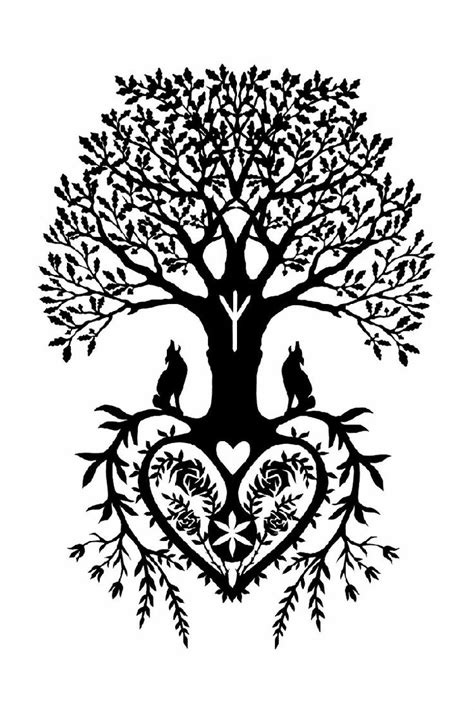 tree of life tattoo design root tree of design