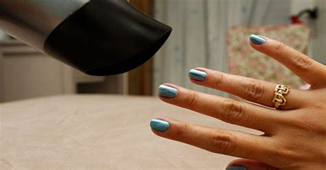 Hair Dryer Nail how to quickly the manicure 171 nails24h 187