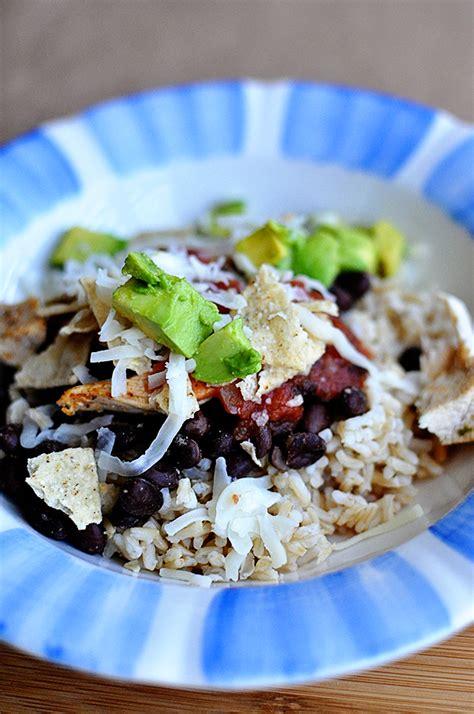 healthy dinner ideas burrito bowl
