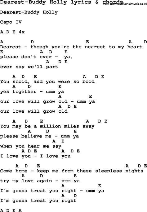 song ukulele chords song lyrics for dearest buddy with chords