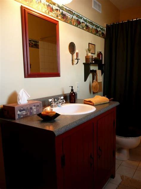 primitive bathroom ideas primitive decorating ideas