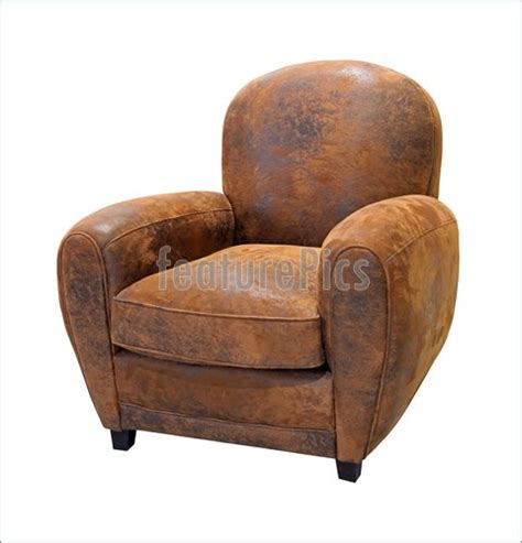 old armchair house living old leather armchair stock image i3931110