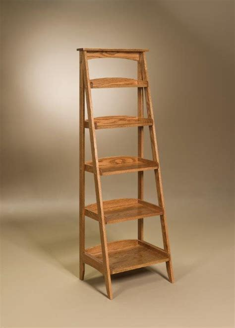 ladder shelf amish ladder shelf