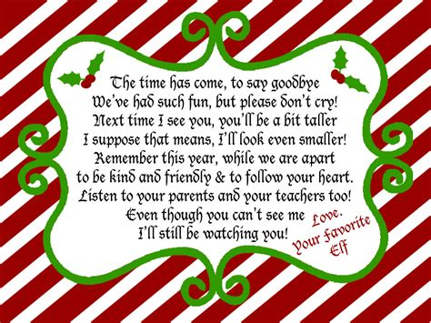 printable goodbye letter to elf on the shelf juneberry lane elf on a shelf free printables