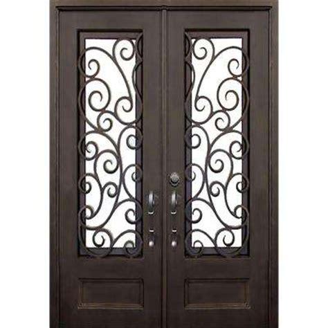 Wrought Iron Exterior Door Hardware Iron Doors Front Doors Exterior Doors Doors