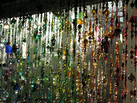 bead window curtains bead curtain redux